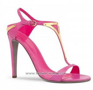 летняя обувь от Sergio Rossi