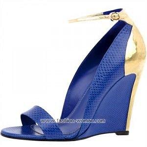 модная обувь от Sergio Rossi весна-лето 2011