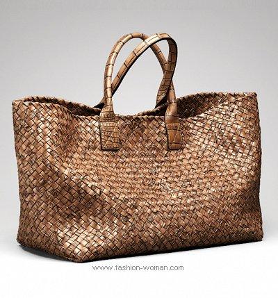 модная плетеная сумка весна-лето 2011 от Bottega Veneta