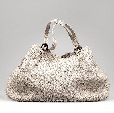Сумка из текстиля от Bottega Veneta