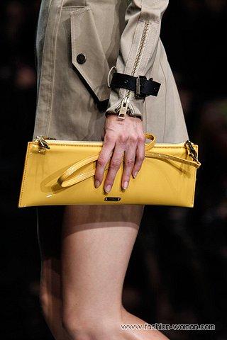 Модная летняя сумка Burberry Prorsum