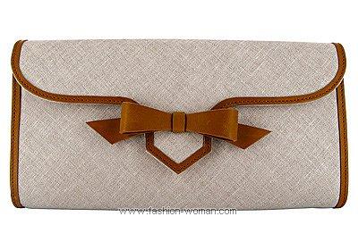 Клатч из текстиля