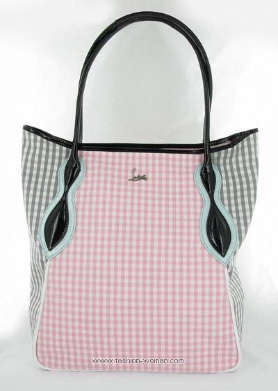 Пляжная сумка от  Christian Louboutin