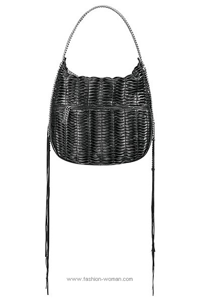 Женская кожаная сумка от Christian Louboutin