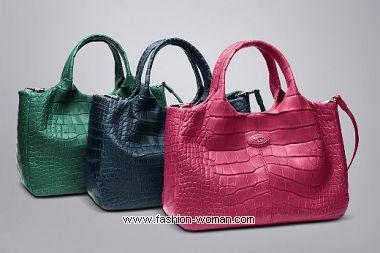коллекция сумок Tod's весна-лето 2011