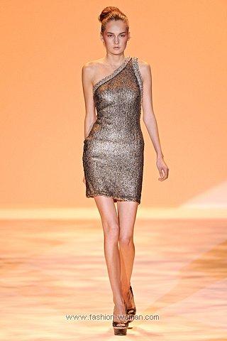 короткое вечернее платье 2011