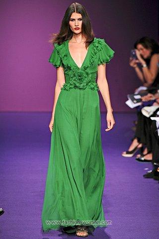 Вечернее платье от Аndrew Gn