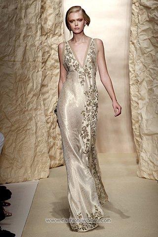 Модное вечернее платье от Donna Karan