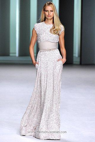 Красивое вечернее платье 2011