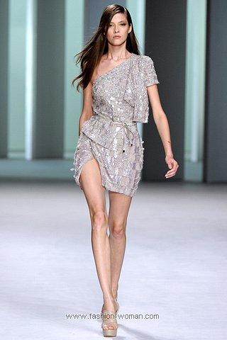 Коктейльное платье весна-лето 2011