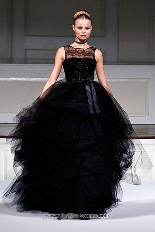 вечернее платье весна-лето 2011 от Oscar De La Renta
