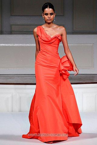 Вечерние платья 2011