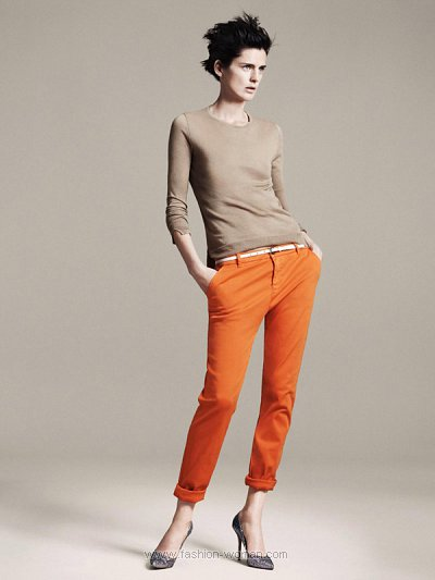 модная одежда Zara весна 2011