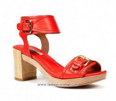 Женская обувь Зара весна-лето 2011