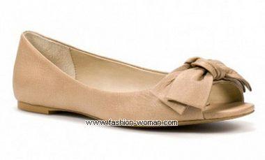 модные балетки Zara весна-лето 2011
