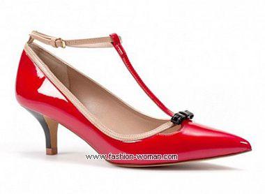 туфли на маленьклм каблуке Zara весна-лето 2011