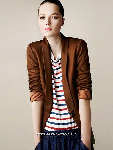 Модный пиджак весна 2011