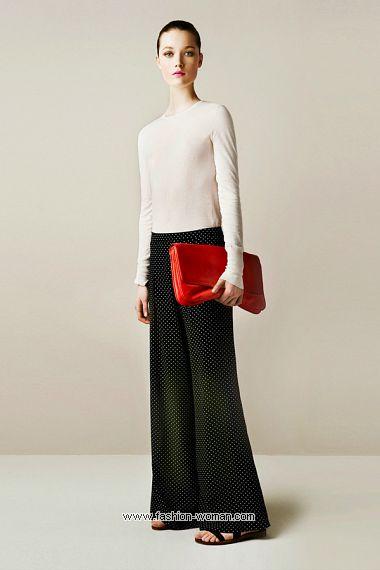 широкие брюки от  Zara весна-лето 2011