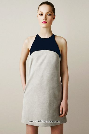 Платье  весна-лето 2011 от  Zara