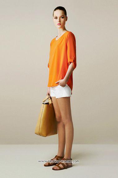 модный образ весна-лето 2011 от  Zara