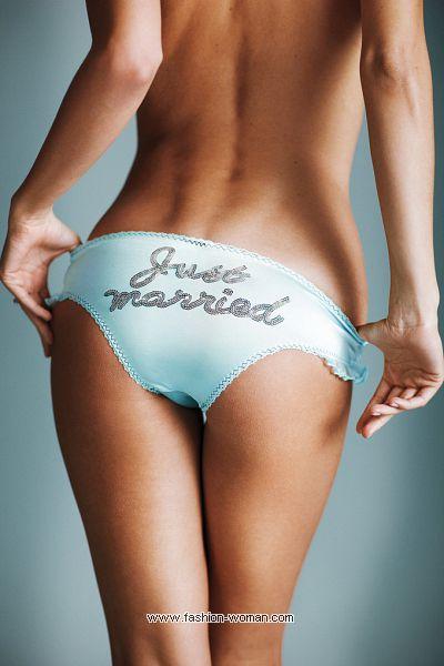 Трусики для невесты от Victoria's Secret