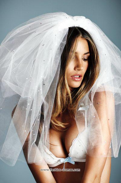Нижнее белье для невест от Victoria's Secret фото