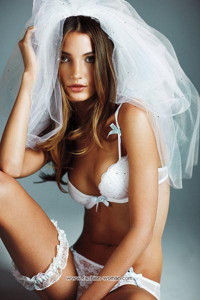 Нижнее белье для невест от Виктории Сикрет 2011