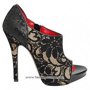 Ажурная обувь