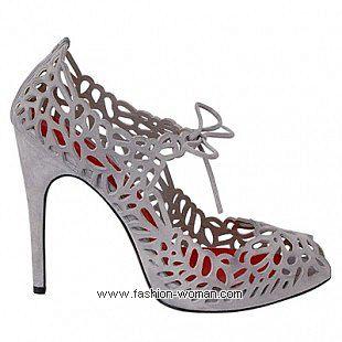 ажурные туфли 2011  Cesare Paciotti