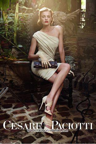 Женская обувь Cesare Paciotti весна-лето 2011