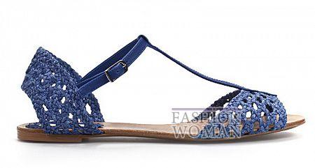 Плетеные босоножки Zara 2011