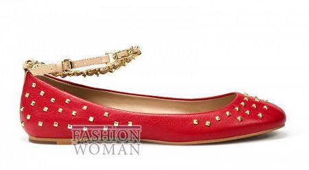 Красные балетки  Zara