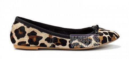 Балетки с леопардовым принтом Zara