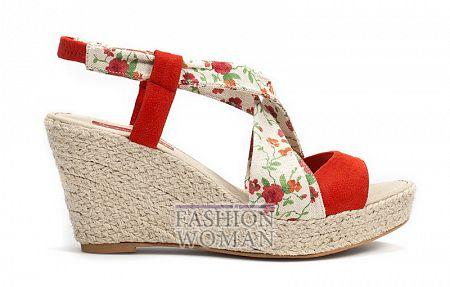 Босоножки из текстиля Zara
