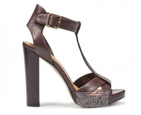 Модные босоножки на каблуке Zara лето 2011