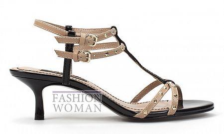 Босоножки на невысоком каблуке Zara