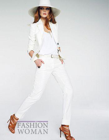 белый костюм Манго весна-лето 2011