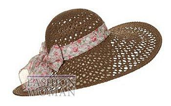 Соломенная шляпа  Topshop