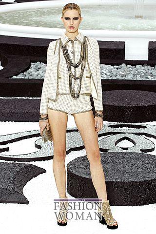 Мини шорты от Chanel
