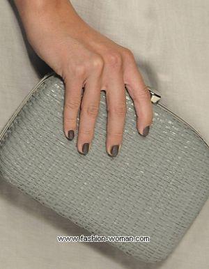 модный маникюр 2011 на коротких ногтях