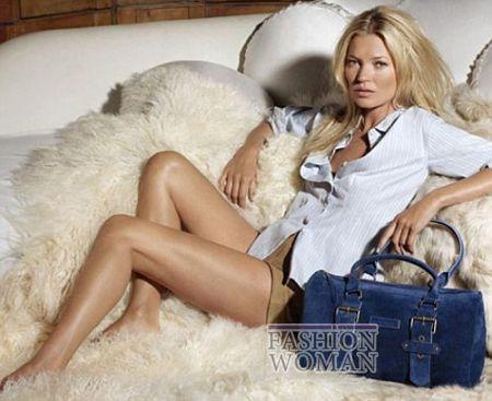 Кейт Мосс в рекламе Longchamp