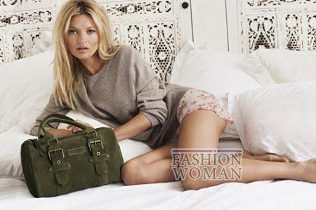 Кейт Мосс в рекламе Longchamp осень-зима 2011-2012