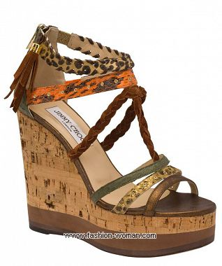 Босоножки Jimmy Choo лето 2011