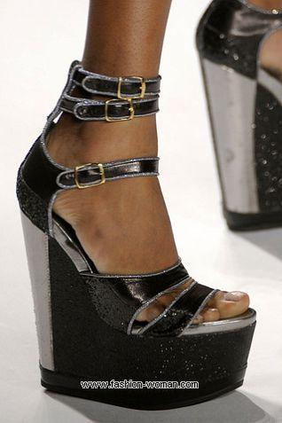 Модная обувь на платформе 2011