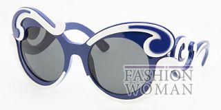 Оригинальные очки от Прада лето 2011
