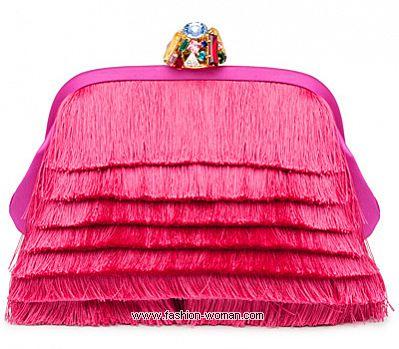 Вечерняя сумка с бахромой Dolce&Gabbana