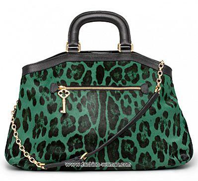Сумка с леопардовым принтом от Dolce&Gabbana