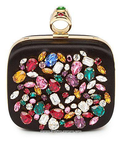 Вечерняя сумочка с камнями от Dolce&Gabbana