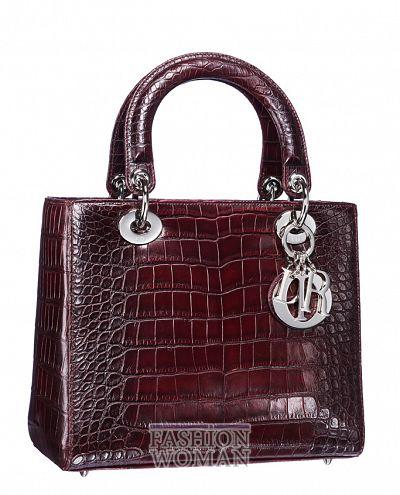 Модная сумка осень-зима 2011-2012 от Christian Dior