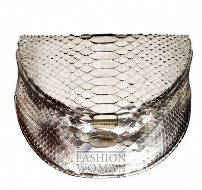 Вечерняя сумочка от Donna Karan осень 2011